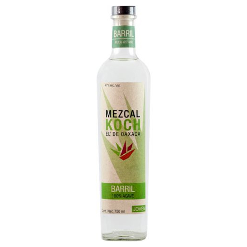 Mezcal Koch Barril Bottle