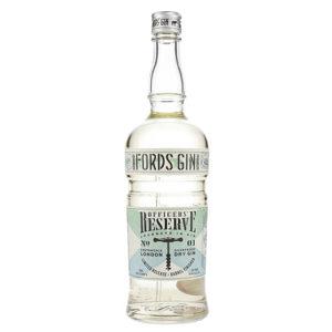 Fords Gin Officer's reserve Bottle