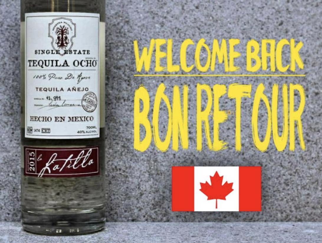 Tequila Ocho in Canada