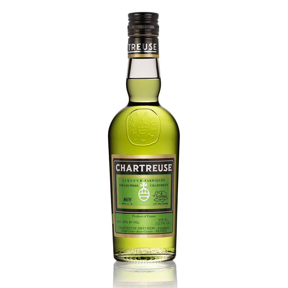 Chartreuse Green Bottle