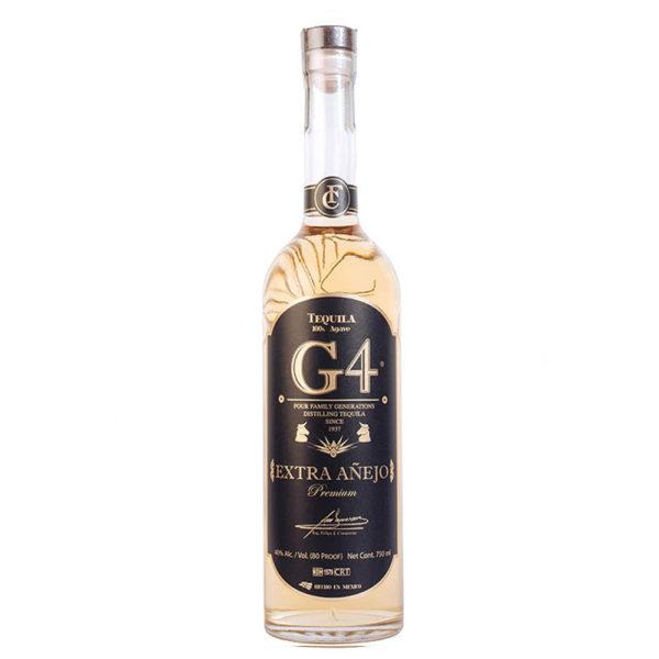 G4 Extra Anejo Bottle